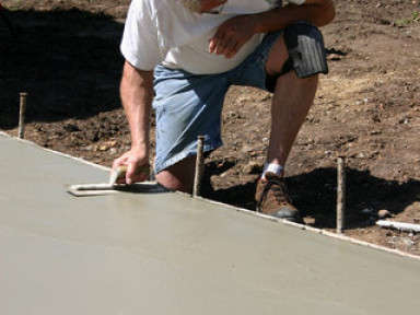 Concrete finishing and flatwork